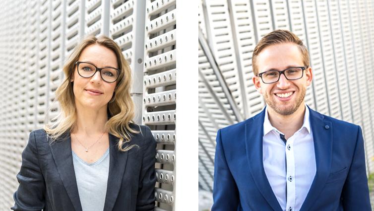 Marion Perplies und Johannes Rasch